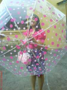 My PINK umbrella