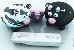 Curious Cow Family for Wii