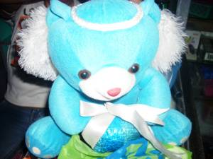Nak~nak's Angel Bear stuffed toy♥